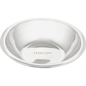 addnature Stainless Steel Bowl 18cm silver